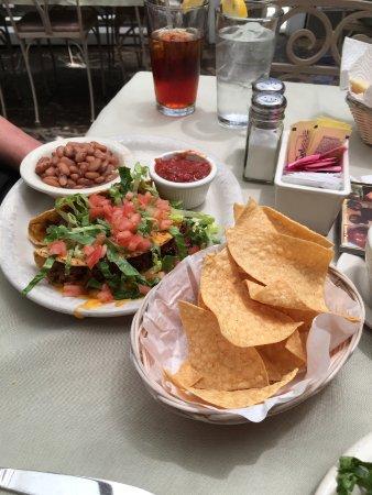 Chimayo, نيو مكسيكو: Pork tacos