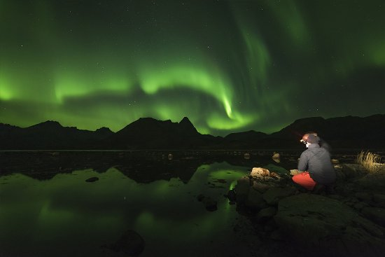 Sortland, Norge: Chasing the Light 'no limits' - the Aurora Addicts photography expedition.