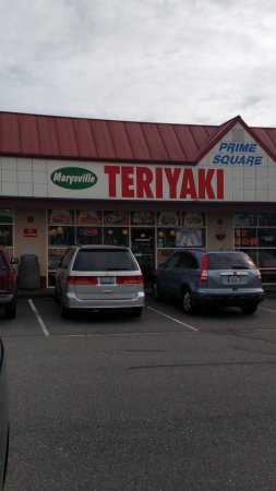 Marysville, Ουάσιγκτον: Strip mall view off of State Avenue
