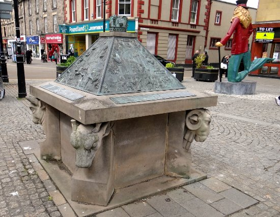 Elgin, UK: the ancient historical thing