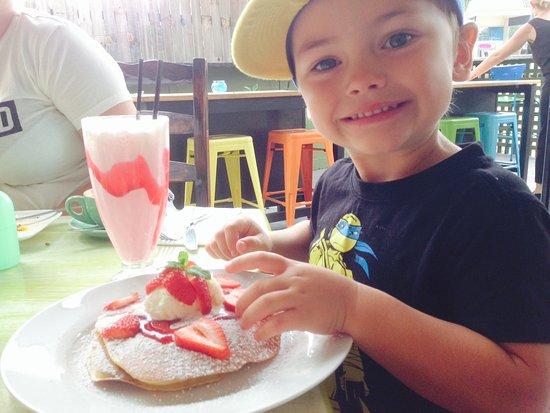 Agnes Water, Australia: mmmmm Pancakes