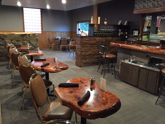 Soap Lake, Ουάσιγκτον: Our New Bar Area!