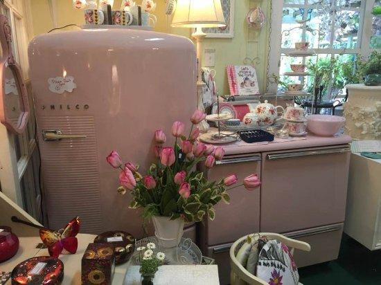 Lake Alfred, فلوريدا: gift shop (pink appliances!)