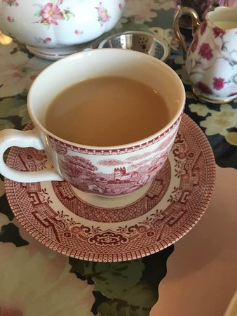 Lake Alfred, فلوريدا: Tea in a real teacup!