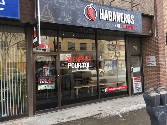 Rouyn-Noranda, Canadá: Habaneros Grill Mexicain