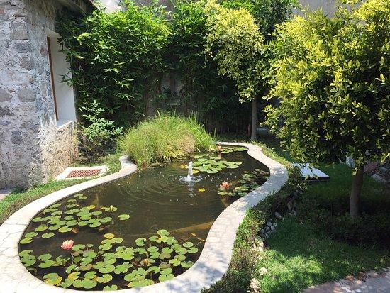 Jardines interiores picture of hacienda soltepec la - Jardines de interior ...