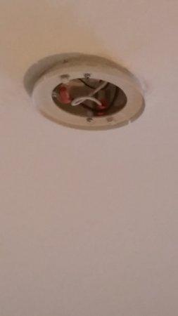 missing smoke detector