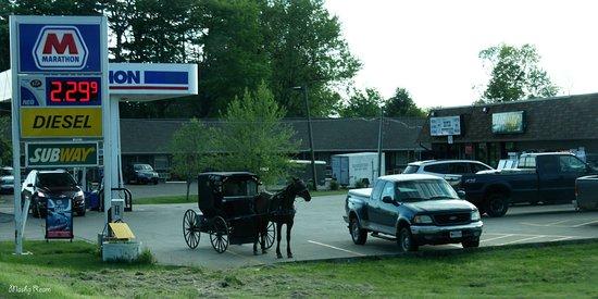 Driving through Millersburg