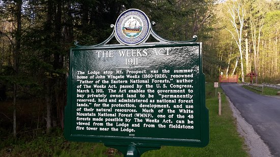 Whitefield, NH: Weeks legacy