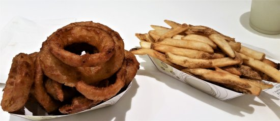 Schenectady, NY: Previously frozen onion rings and french fries.