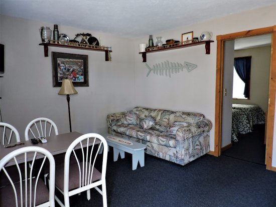 Beaver Island, MI: Unique decor in individual condo rentals.