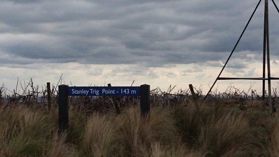 Stanley, Australia: 海抜最高点