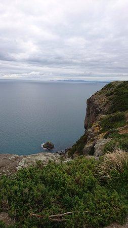 Stanley, Australia: 断崖絶壁の上から