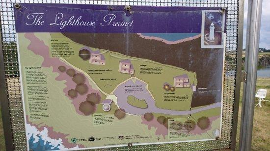 Wynyard, Austrália: 園内の地図