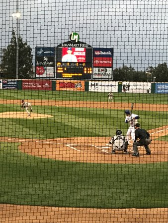 Rancho Cucamonga, Kalifornien: Here's the pitch