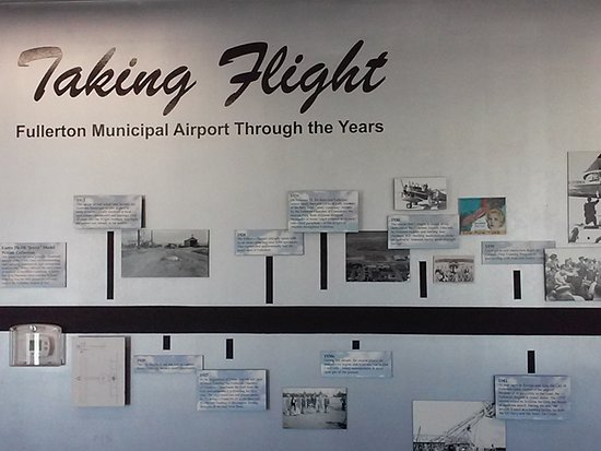 Fullerton, Californië: historical photographs of the airport