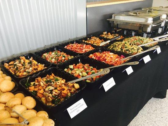 Moranbah, Avustralya: Catering Setup