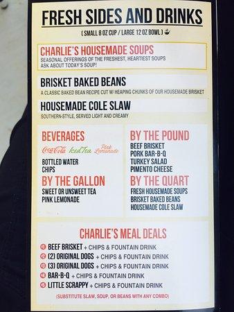 Athens, GA: Lemon Blueberry Shortbread cookies, menu and the Wilmington sandwich