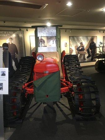 Sir Edmund Hillary Alpine Centre: The aforementioned tractor