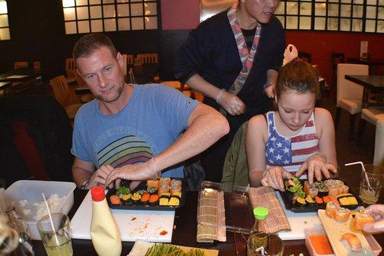 Rijswijk, Países Bajos: Take-away your own 'home-made' sushi-box