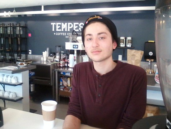 Appleton, WI: Anton, one of the managers, who appears serious but is warm and passionate about this place.