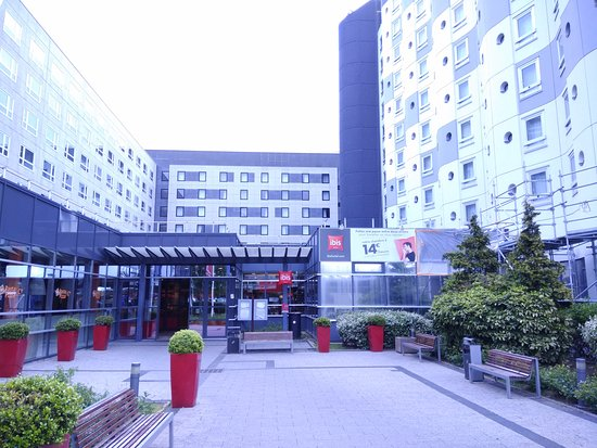 Ibis Paris Cdg Airport Entrance To The Hotel