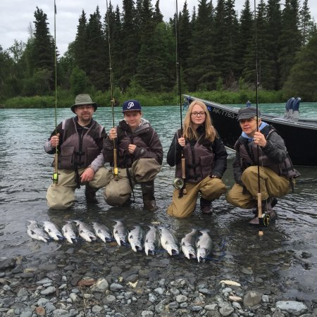 "Cooper Landing, AK: Come on out for a little ""friendly"" family competition!"