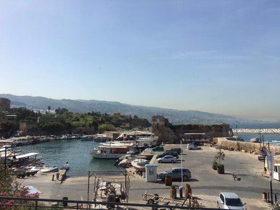 Byblos Sur Mer: View from the room