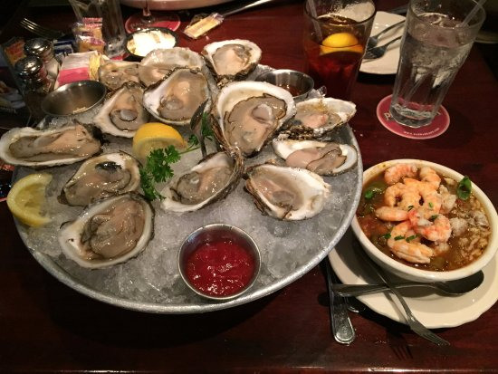 Conroe, TX: A Dozen Bluepoint Oysters and Seafood Gumbo