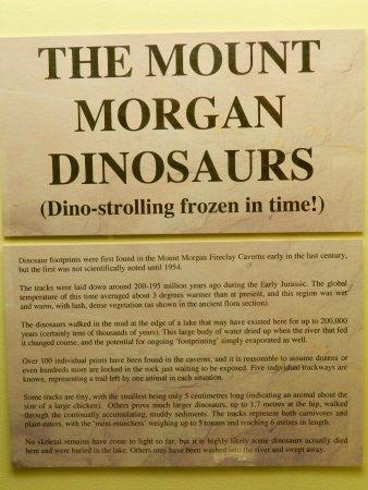 Rockhampton, Austrália: Mt.Morgan dinosaurs