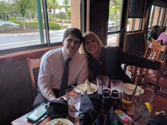 Wesley Chapel, FL: Special graduation dinner for my son ❤