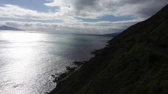 Looking over to Paekakariki and Kapiti Island