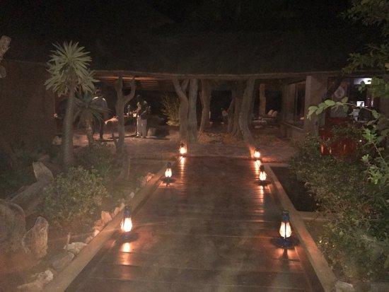 Madikwe Game Reserve, Sydafrika: Magical Rhulani at night
