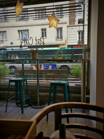 Levallois-Perret, Francia: Fat Cat Coffee Stand