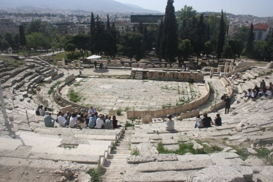 Theater of Dionysus : Was this where drama truly began?