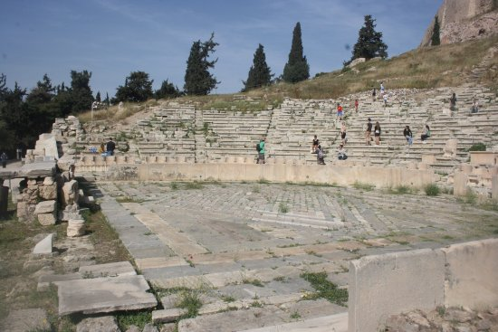 Theater of Dionysus : The view from ground level