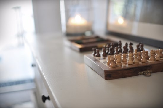 Hotel Villa Borgen: Why not play chess?