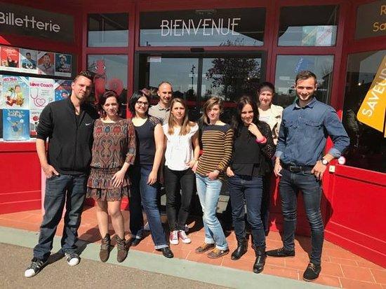 Cugnaux, France: L'équipe du Théâtre des Grands Enfants