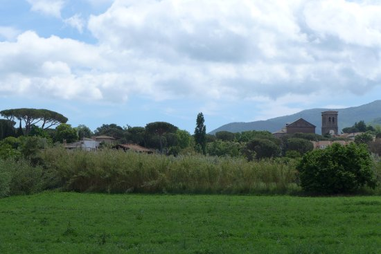 Villa Farinella: View from the hotel grounds