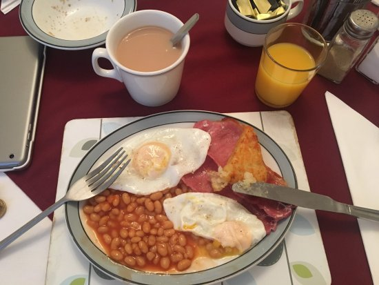 Mayview Guest House: full english breakfast