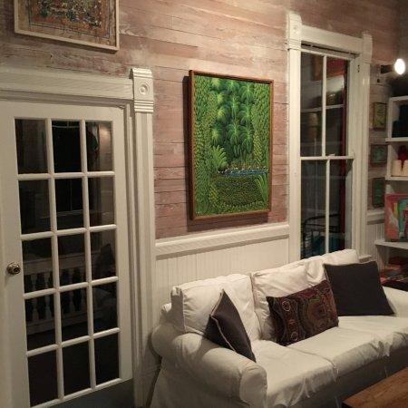 Key West Bed and Breakfast: Wohnzimmer
