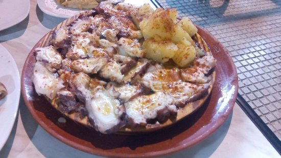 Mairena del Aljarafe, Ισπανία: pulpo a la gallega