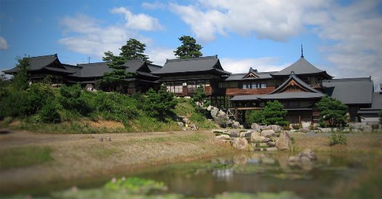 Aizubange-machi, Japan: 松林閣外観