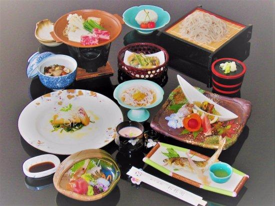 Aizubange-machi, Japan: 懐石膳