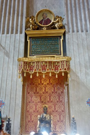 St. Peter Enthroned: Св. Петр