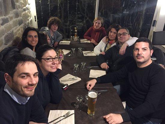 Castiglion Fiorentino, Italien: cena in famiglia!!!