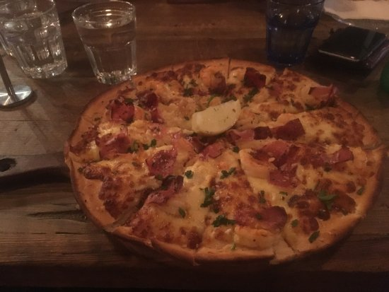 Leederville, Αυστραλία: Janes Addiction Pizza (contains seafood)