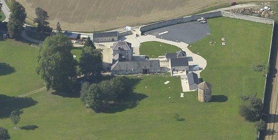 Villers-Cotterets, France: vue aerienne