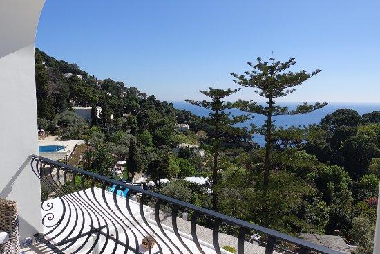 La Minerva: Balcony View