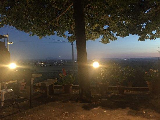 Castiglion Fiorentino, Italia: panorama mozzafiato
